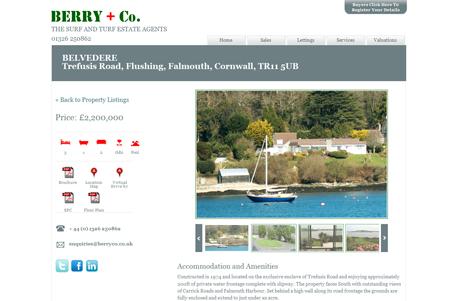 Berry & Co Website