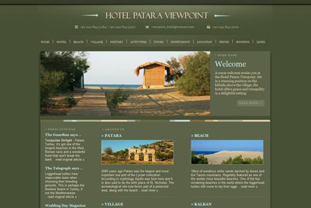 Patara Viewpoint Hotel Website