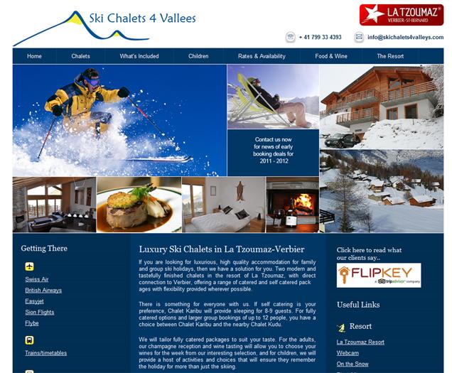 Ski Chalets in Switzerland